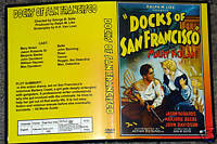 DOCKS OF SAN FRANCISCO -DVD - Mary Nolan, Jason Robards