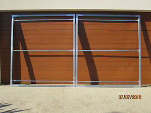 GATE FRAMES RECESS STYLE , CAN BE CUSTOM MADE TO SUIT , SUIT 3M OPENING
