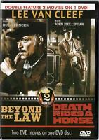 Beyond The Law / Death Rides A Horse (DVD) Lee Van Cleef NEW
