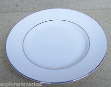 """NEW NWT Wedgwood Vera Wang Blanc Sur Blanc NEW NWT 6"""" Bread and Butter Plate"""
