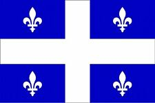 ***QUEBEC CANADA VINYL FLAG DECAL / STICKER***