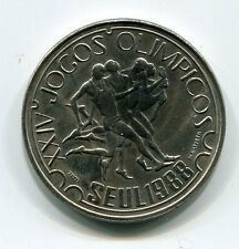 Portugal 1988 250 Escudos Coin UNC 24th Olympic Games Jogos Olimpicos Seoul