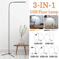 3In1 LED Floor Light Adjustable Standing Reading Office Dimmable Desk