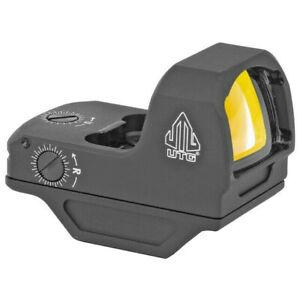 UTG OP3 Micro Red Dot, 4.0 MOA Dot, Side Loading, Sensor