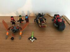 LEGO - 70600 - NINJAGO La poursuite en moto des Ninja COMPLET