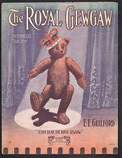 Royal GewGaw 1907  Sheet Music