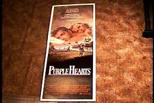 PURPLE HEARTS 1984 ROLLED INSERT 14X36 MOVIE POSTER KEN WAHL