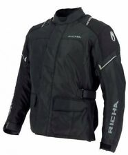 RICHA CONDOR JACKET -Waterproof Black Motorcycle Jacket ideal for everyday