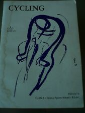 Vintage C.O.N.I Cycling Manual