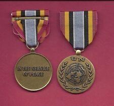 UN United Nations medal for Uganda  Rwanda UNOMUR Mission