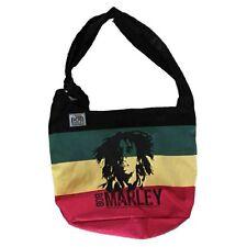 Zion Rootswear Bob Marley Reggae Hip Hop Music Rasta Satchel Strap Bag ZRBM14BG
