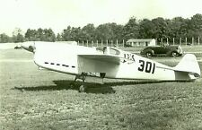 PRIDE OF LEMONT - FOLKERTS SK 3: B&W 5X7 PHOTOGRAPH - RACING AIRPLANE & AVIATION