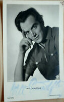 38292 Foto Ross Editore Autografo Ak Film Attore Vuole Quadflieg Del 1940