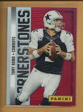 Tony Romo 2013 Panini Prizm Cornerstones Red Prizm #15 serial #d /99 Cowboys