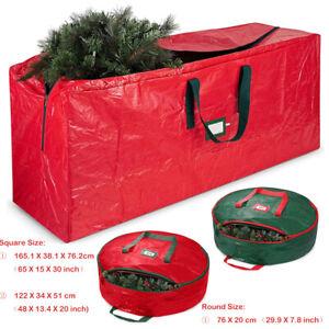 Large Xmas Tree Storage Bag For Christmas Tree, Garland Decoration Organiser