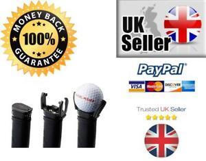 GOLF BALL RETRIEVER SUCKER BACK SAVER GOLF BALL PUTTER PICK UP TOOL GRABBER UK*