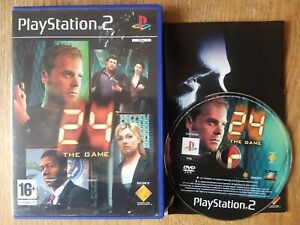 24: The Game (Sony PlayStation 2, 2006) - WITH MANUAL