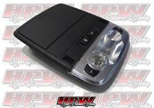 VE Overhead roof mounted sunglass holder BLACK Map pocket with lights HSV