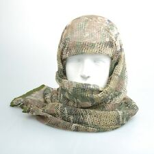 Muliticam Camo Tactical Cotton Mesh Scarf Wrap Face Cover Mask Shawl Sniper Veil