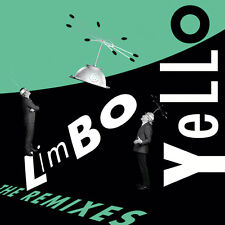 Yello LIMBO THE REMIXES promo EP CD Single w/Boris Blank Remix info postcard TOY