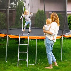 3-Step Safety Trampoline Ladder 102×34.5×5CM Heavy Duty Frame