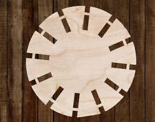 Wind Mill Unfinished Wood Cutout Cut Out Shapes Ready to Paint Crafts ALL SIZES