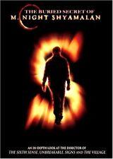The Buried Secret Of M. Night Shyamalan Filmmaker Filmmaking Documentary DVD