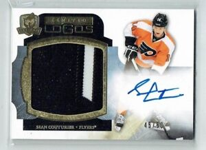 11-12 UD Upper Deck The Cup Limited Logos  Sean Couturier  /50  Auto  Patch