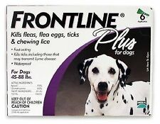 Merial Frontline Plus Pack For Dogs 45 - 88 lb -- 12 DOSES