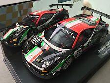 "Carrera 124 Digitale 23805 Ferrari 458 Italia GT3 "" Af Corse Nr. 50 "" Luci Nuovo"