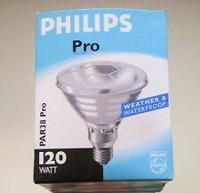 Philips Reflektor Strahler Spot PAR38 Incandescent 230V 120W 12° E27 NEU