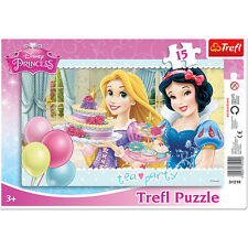 Puzzle 15 Pièces Princesses Disney Tea Time