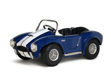 Kid's Shelby Cobra Pedal Car Blue with White Stripes by Morgan Cycle 21117