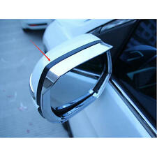 Car ABS Chrome side mirror rain cover trim for 2017 Honda CRV CR-V