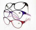 Designer Cat Eyes Nearsighted Glass Retro Oversized -100 ~ -600 ShortSight Glass