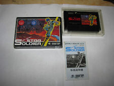 Star Soldier Famicom NES Japan import Complete in Box US Seller