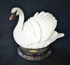 "Vintage FLORENCE by Giuseppe Armani Porcelain SWAN 4 1/2""h Sculpture #2111S"