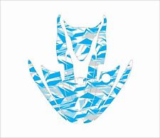 KAWASAKI ZXi 750 1100 jetski Jet Graphic Kit Wrap pwc decal sticker blue grey wh