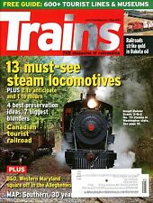 Trains Magazine May 2012 13 must-see steam locomotives