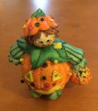Enesco Cute As A Button Pumpkin Boy #187666 (See Description)