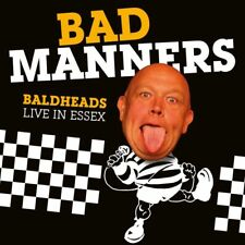 Bad Manners(CD/DVD Album)Baldheads Live In Essex-Secret-SECDP190-EU-201-New