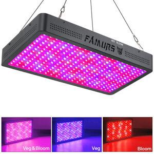 FAMURS 3000W LED Grow Light Full Spectrum Triple Chips VEG & BLOOM Switch