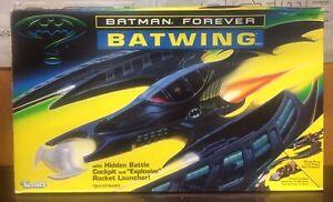 1995 Kenner Batman Forever BATWING w/ Hidden Battle Cockpit & Rocket Launcher