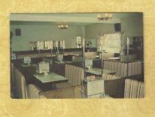 Canada Quebec Waterloo 1970 postcard CAFE REX 600 PRINCIPALE to Sherbrooke