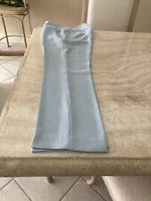 Patrick Mendes Baby Blue Zip Pants Size 40 Made in France