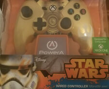 Xbox One Wired Star Wars C-3PO Controller Brand New