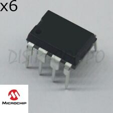 MCP6002-I/P operational amplifiers DIP-8 Microchip (lot de 6) PRE-ORDER 5-7 DAYS