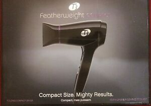 T3 Micro Featherweight Compact Folding Styling Hair Dryer Black Purple 76850