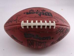 Wilson NFL Leather Football Green Bay Packers Autographed Ball 28 Signatures Vtg