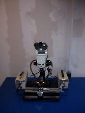 9816 Olympus U Ebti Microscope With Ergo Head Amp Navitar Zoom With Mitutoyo 5x Lens